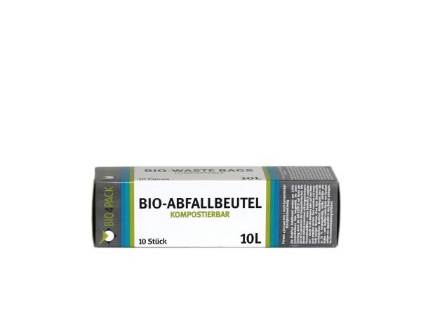 Bio4Pack Müllbeutel 100% kompostierbar, 10 - 240 Liter, 10 Stück