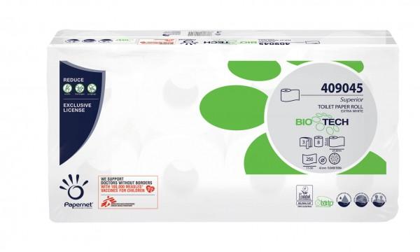 BIOTECH bioaktives Toilettenpapier 3-lagig Recycling für Camping und Caravan